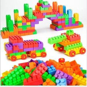 đồ chơi lắp ráp cho bé combo 72 miếng