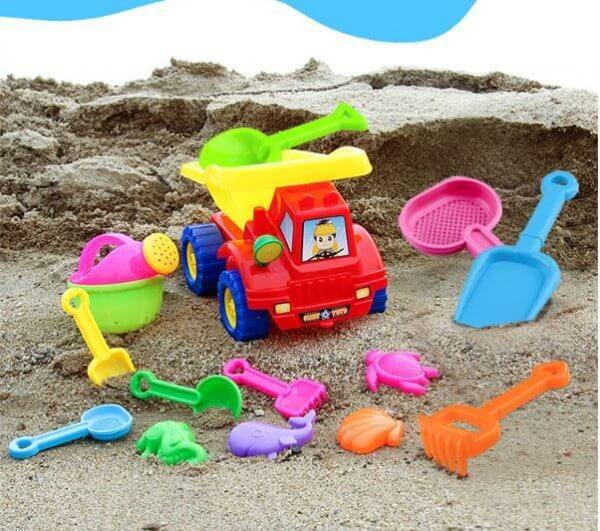 bộ đồ chơi xúc cát đi biển cho bé