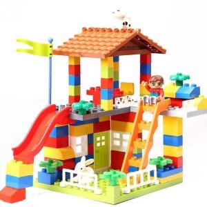 bộ đồ chơi lắp ghép khu vui chơi cho bé