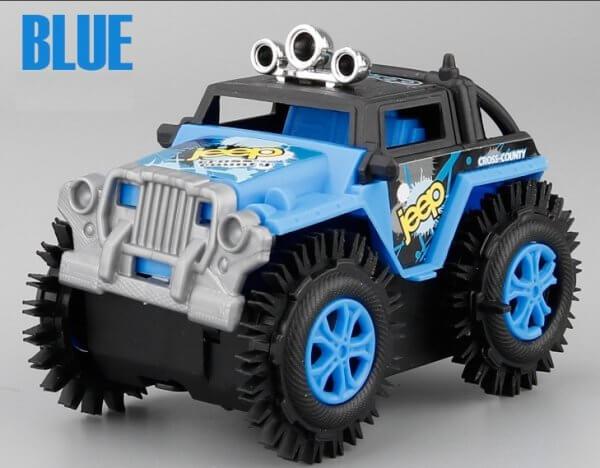 ô tô đồ chơi địa hình màu xanh dương