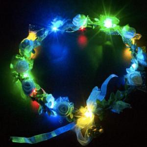 vòng hoa đội đầu đèn led