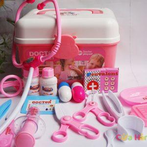 Bộ đồ chơi cho bé tập làm bác sĩ cao cấp 18 món